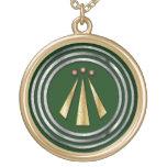 Símbolo del Neo-Druida de la plata y del oro de Aw Joyerias Personalizadas