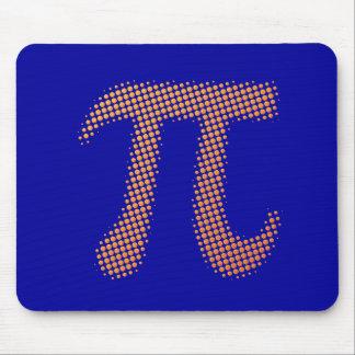 Símbolo del número del pi alfombrilla de raton