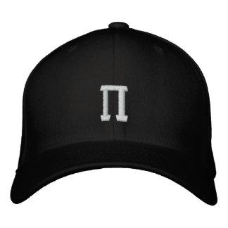 Símbolo del número del pi gorra bordada
