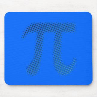 Símbolo del número del pi tapete de ratones