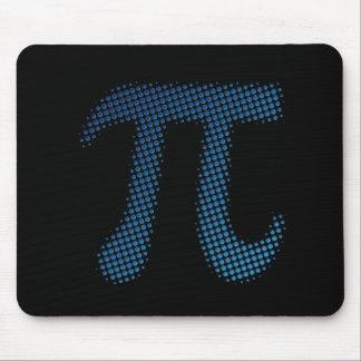 Símbolo del número del pi tapetes de ratón