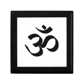 Símbolo del ohmio caja de recuerdo