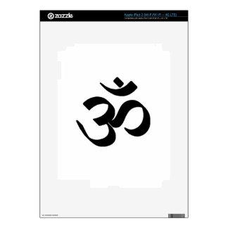 Símbolo del ohmio pegatinas skins para iPad 3