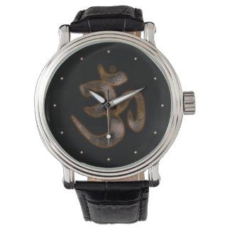 Símbolo del ohmio reloj