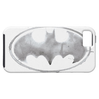 Símbolo del palo del café - gris iPhone 5 Case-Mate coberturas
