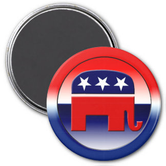 Símbolo del Partido Republicano Imán Redondo 7 Cm