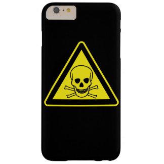 Símbolo del peligro tóxico funda barely there iPhone 6 plus