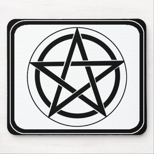 Símbolo del Pentagram Alfombrilla De Ratón