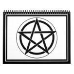 Símbolo del Pentagram Calendarios