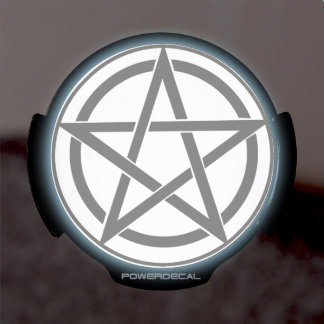 Símbolo del Pentagram - estrella Cinco-Acentuada Pegatina LED Para Ventana