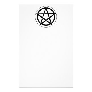 Símbolo del Pentagram Papeleria Personalizada