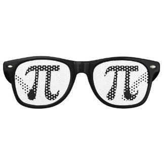 Símbolo del pi gafas de sol