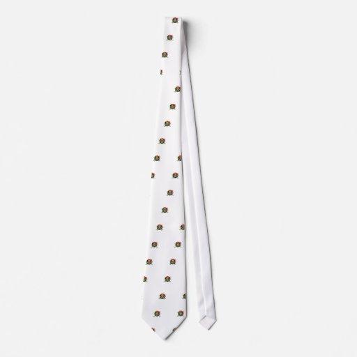 Símbolo del pirata corbatas
