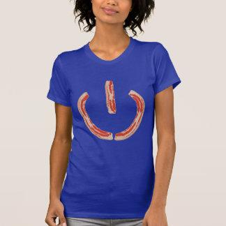 Símbolo del poder del tocino tshirts