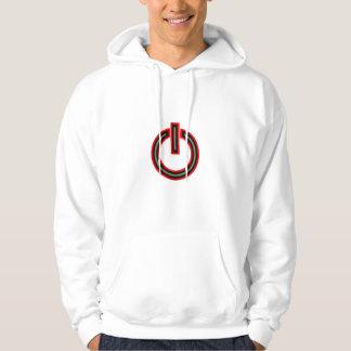 Símbolo del poder jersey con capucha