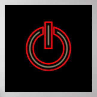 Símbolo del poder póster