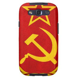 símbolo del ruso del comunismo galaxy s3 carcasa