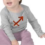 Símbolo del sagitario camiseta