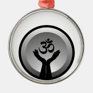 Símbolo del símbolo de OM del hinduism Adorno