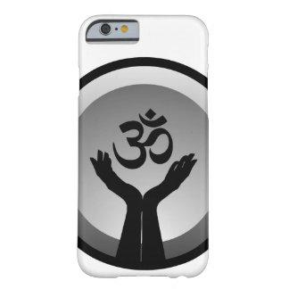 Símbolo del símbolo de OM del hinduism Funda De iPhone 6 Barely There