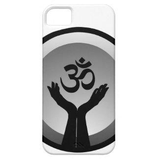 Símbolo del símbolo de OM del hinduism iPhone 5 Case-Mate Carcasa