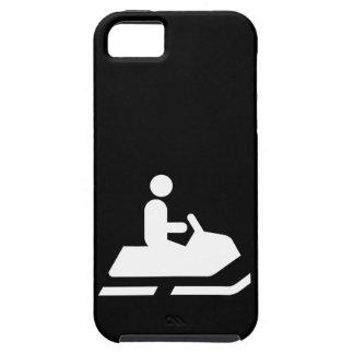 Símbolo del Snowmobile iPhone 5 Protector