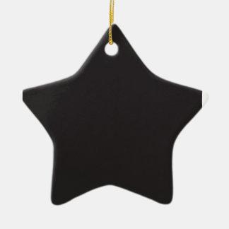 Símbolo del sombrero de copa adorno de cerámica en forma de estrella