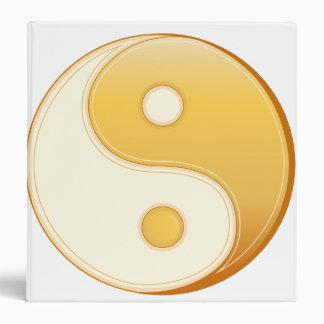 """Símbolo del Taoism Carpeta 1 1/2"""""""