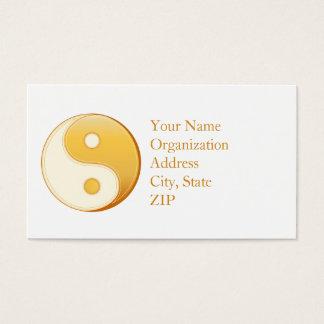 Símbolo del Taoism Tarjetas De Visita
