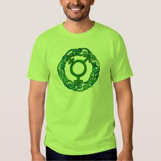 Símbolo del transexual de Knotwork del Celtic Camisas