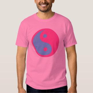 Símbolo del transexual de Yin y de Yang Poleras