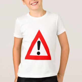 Símbolo del triángulo de la atención playera