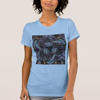 Símbolo del triángulo del fluorito camisetas
