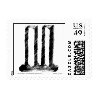 Símbolo del World Trade Center Franqueo