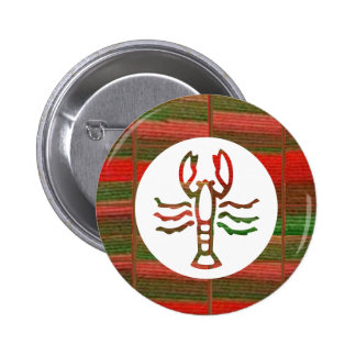 Símbolo del zodiaco de la astrología del ESCORPIÓN Pin Redondo De 2 Pulgadas