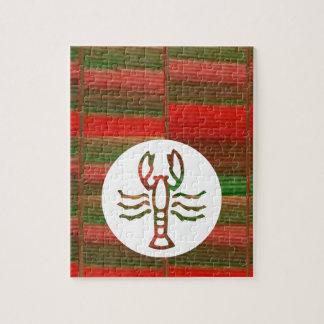 Símbolo del zodiaco de la astrología del ESCORPIÓN Rompecabezas