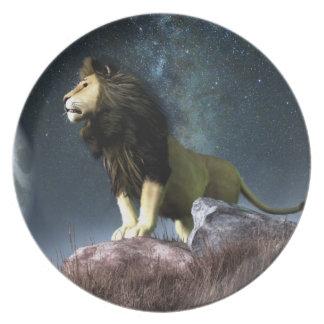 Símbolo del zodiaco de Leo Platos De Comidas