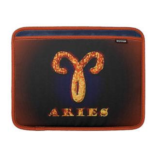 Símbolo del zodiaco del aries fundas macbook air