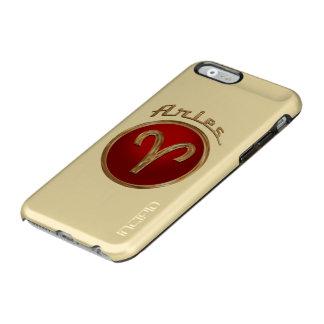 Símbolo del zodiaco del aries funda para iPhone 6 plus incipio feather shine