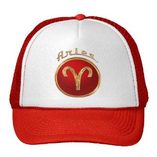 Símbolo del zodiaco del aries gorra
