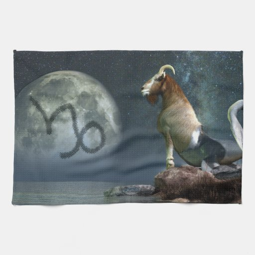 Símbolo del zodiaco del Capricornio Toallas