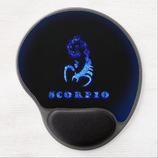 Símbolo del zodiaco del escorpión alfombrillas con gel