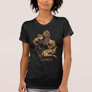 Símbolo del zodiaco del portador del agua del camisas