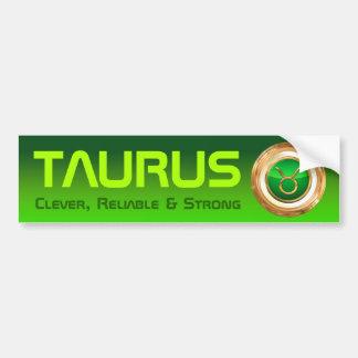 Símbolo del zodiaco del tauro pegatina para auto