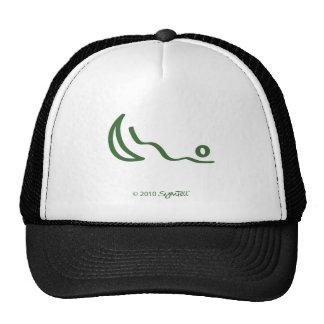 Símbolo desagradecido verde de SymTell Gorros Bordados