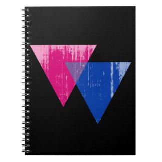 Símbolo distressed.png del Bisexuality Libros De Apuntes