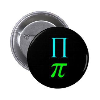Símbolo dual del pi (botón) pin