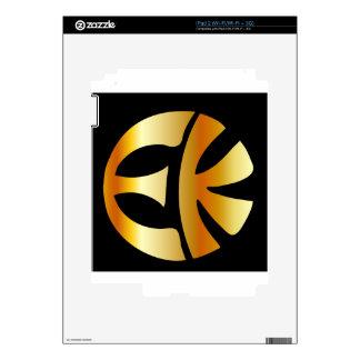 Símbolo Eckankar del emblema de USVA Skins Para eliPad 2