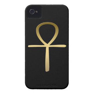 Símbolo egipcio cruzado de Ankh Carcasa Para iPhone 4
