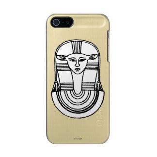 Símbolo egipcio: Hathor Funda Para iPhone 5 Incipio Feather Shine